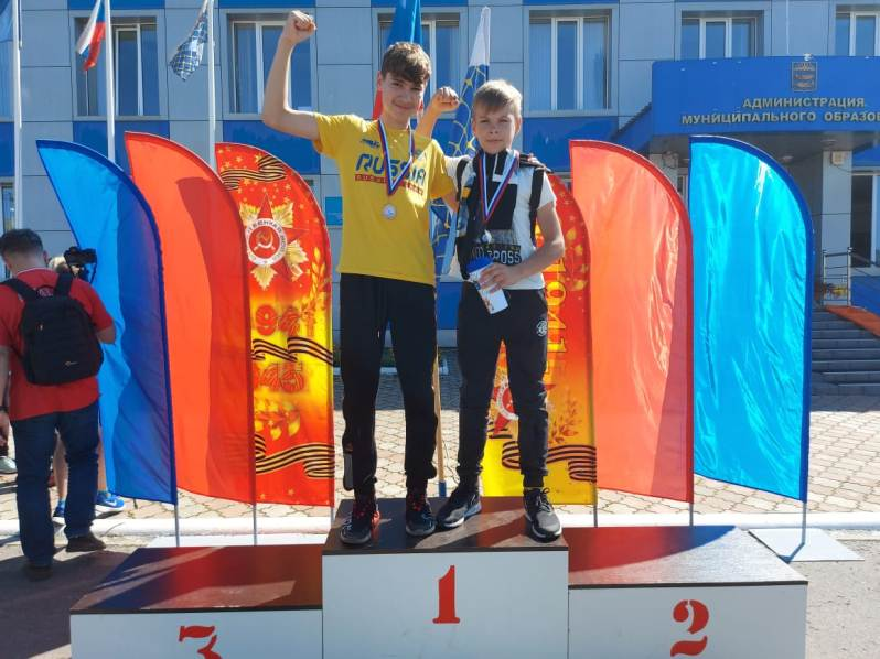 победители 2 и 3 место