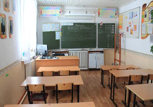 учебный класс начальной школы